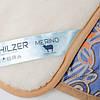 Ексклюзивна ковдра з вовни мериносів тепле HILZER вовна/сатин. Різні розміри, фото 4