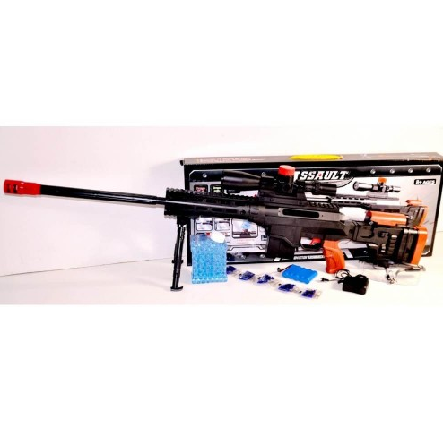 Детское оружие с пульками орбиз. Детская игрушечная снайперская винтовка на аккумуляторе.Игрушки для мальчиков