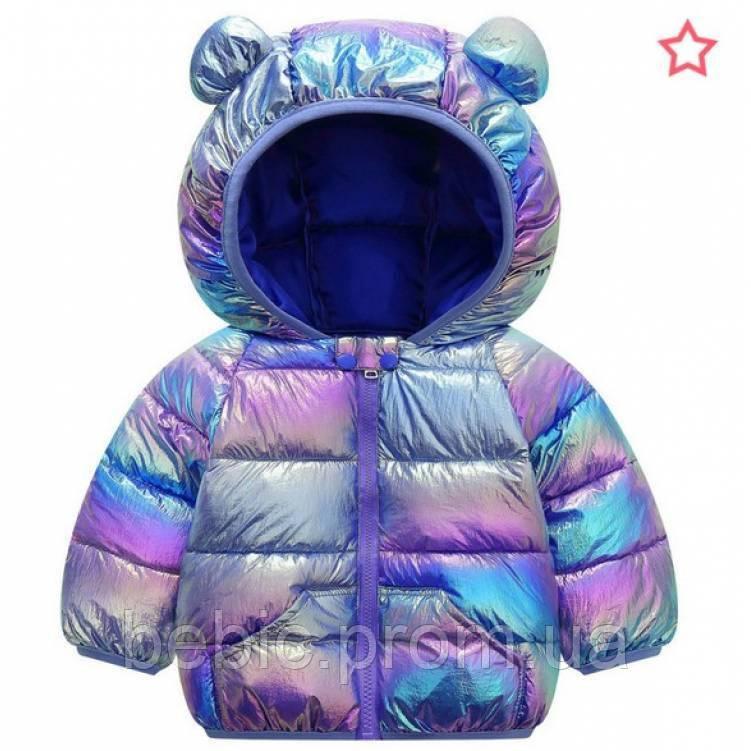 Курточка деми синяя Размер: 120 см