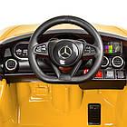 Детский электромобиль машина Mercedes Benz M 4062EBLR-6 желтый, фото 2