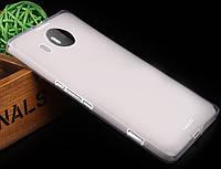 Чохол накладка для Microsoft Lumia 950 XL білий, фото 1