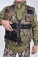 Жилет разгрузка/ охота/камуфляж/ патронташ 37 патронов 12к