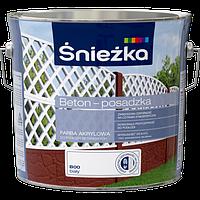 Красная краска по бетону купить кто делал стяжку из керамзитобетона