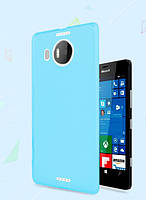 Чехол накладка для Microsoft Lumia 950 XL голубой, фото 1