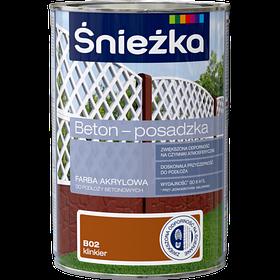 Краска для бетоных поверхностей Sniezka Beton Posaczka  В02 1л (PL)