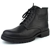 Зимові черевики ручної роботи з натуральної шкіри чоловіче взуття великих розмірів Ultimate by Rosso Avangard BS