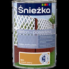 Краска для бетонных оснований Sniezka BETON-POSADZKA СВ.ГОРИХ В01 1л PL