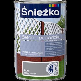 Краска для бетонных оснований Sniezka BETON-POSADZKA СВ.СИРИЙ В06 1л