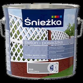 Краска для бетонных оснований Sniezka BETON-POSADZKA СВ.СИРИЙ В06 3л