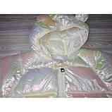 Курточка деми белая Рост: 120 см, фото 3