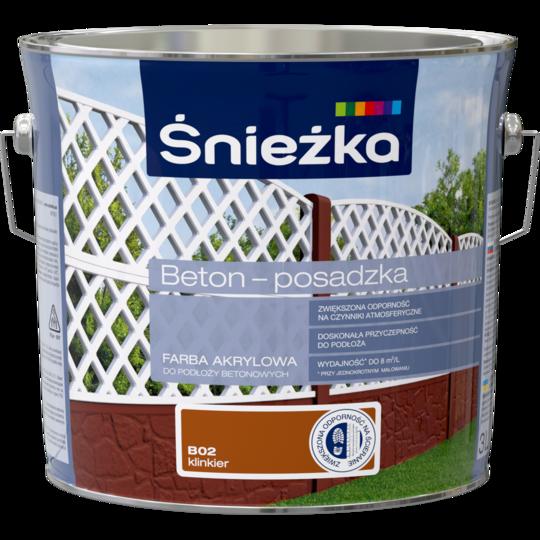 Краска для бетоных поверхностей Sniezka Beton Posaczka  В02. 3л (PL)