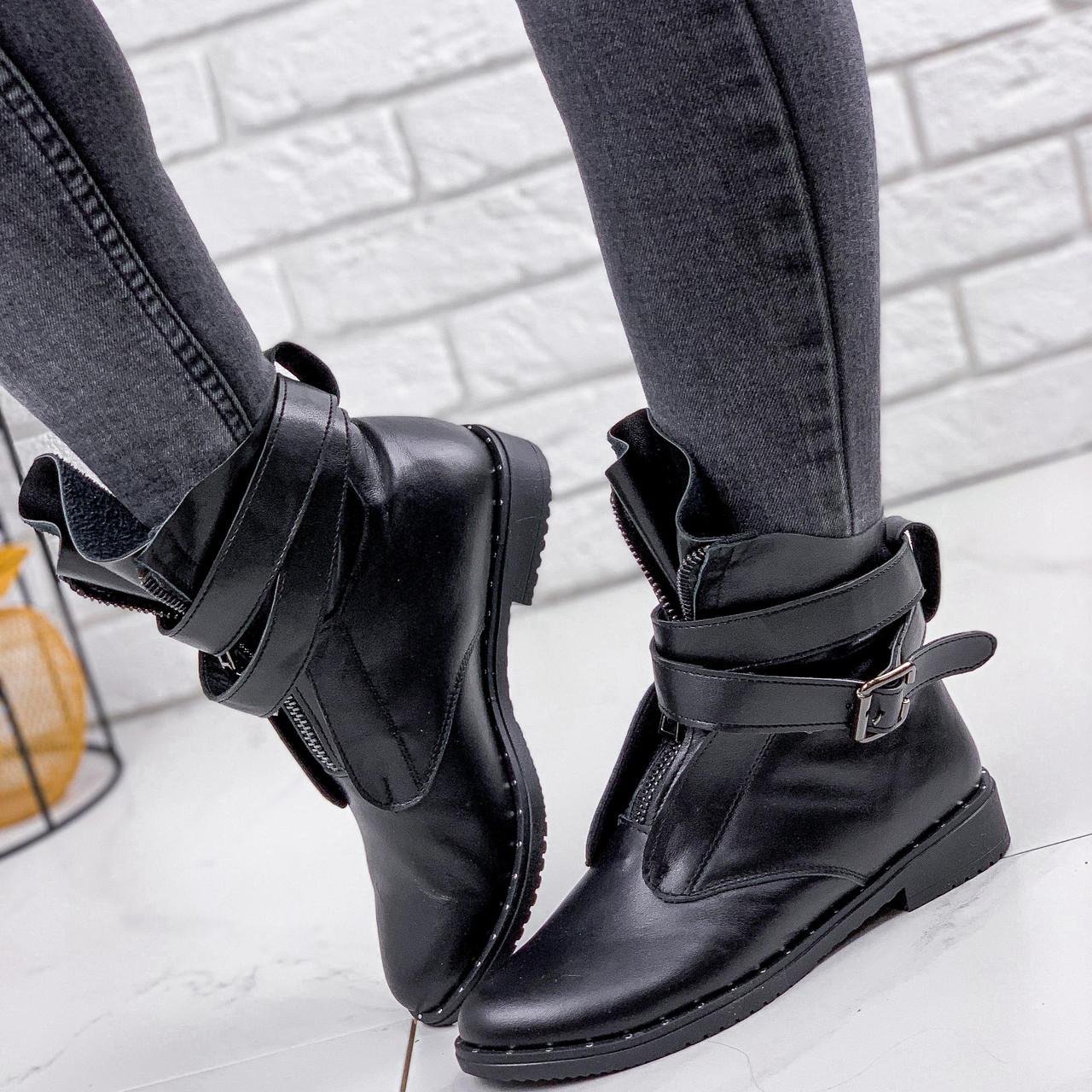 Ботинки женские Sheba черные 2238