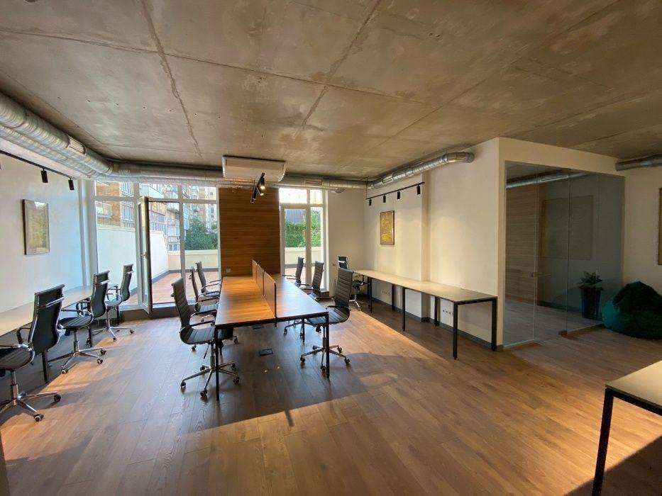 Офіс у стилі Loft по вул. Жилянська, 68 (Вентиляція з кондиціонуванням)