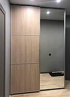 Шкаф купе с верхнеподвесной системой шкаф купе с зеркалом