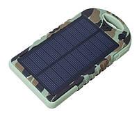 Solar power bank 5000 mah, водонепроницаемый