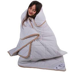 Одеяло с шерсти мериноса теплое классическое Goodnight.Store (всесезонное)