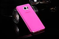 Чохол накладка для Samsung Galaxy Note 5 N920 рожевий, фото 1