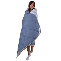 Одеяло с шерсти мериноса Lite классическое Goodnight.Store. Разные размеры и цвета
