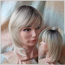 Парик из термоволокна итальянка блонд с корнями EVRO Y-24SP613YS4