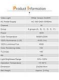 Постоянный свет Godox SL60W + фильтры  5600K 60W CRI 95 + Bowens крепление  светодиодный видео свет, фото 10