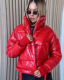 Куртка женская осенняя 42-44, 46-48 чёрный, мокко, хаки, пудра, красный, салатовый, желтый, фото 5