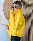Куртка женская осенняя 42-44, 46-48 чёрный, мокко, хаки, пудра, красный, салатовый, желтый, фото 7