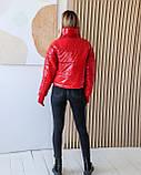 Куртка женская осенняя 42-44, 46-48 чёрный, мокко, хаки, пудра, красный, салатовый, желтый, фото 8