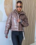 Куртка женская осенняя 42-44, 46-48 чёрный, мокко, хаки, пудра, красный, салатовый, желтый, фото 4