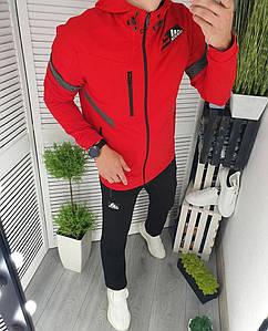 """Теплий чоловічий спортивний костюм """"Адідас"""" в кольорах (38-849)"""