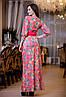 Длинное платье с стереоэффектом, фото 2