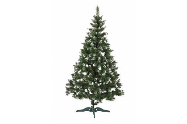 Новогодняя искусственная елка Лидия с имитацией инея 1.8 метра, фото 2