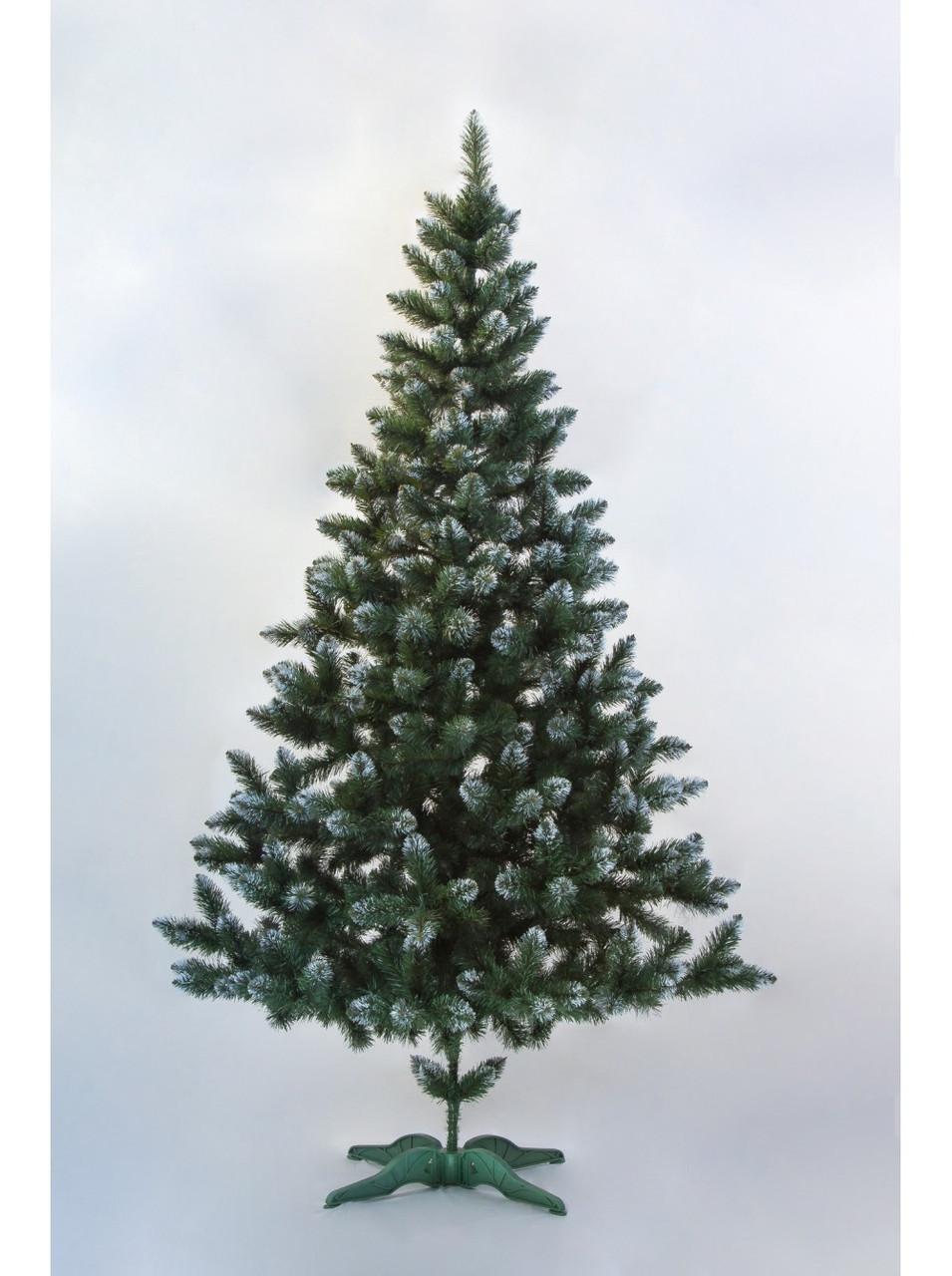 Новогодняя искусственная елка Лидия с имитацией инея 2 метра