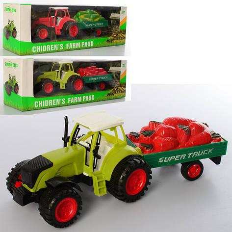 Трактор инерционный 0488-278-281-282, фото 2