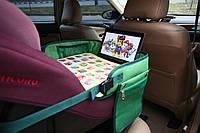 """Детский столик """"Азбука"""" для автокресла и коляски, зеленый"""