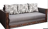 Прямой раскладной диван от производителя еврокнижка МУЗА Диван-софа для повседневного сна Серый, фото 2