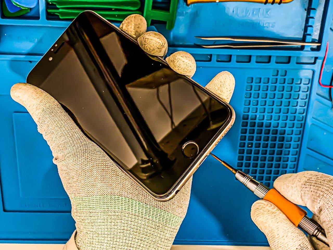 Ремонт Apple Iphone 6S PLUS - Замена шлейфа / разъема зарядки / Flex cable