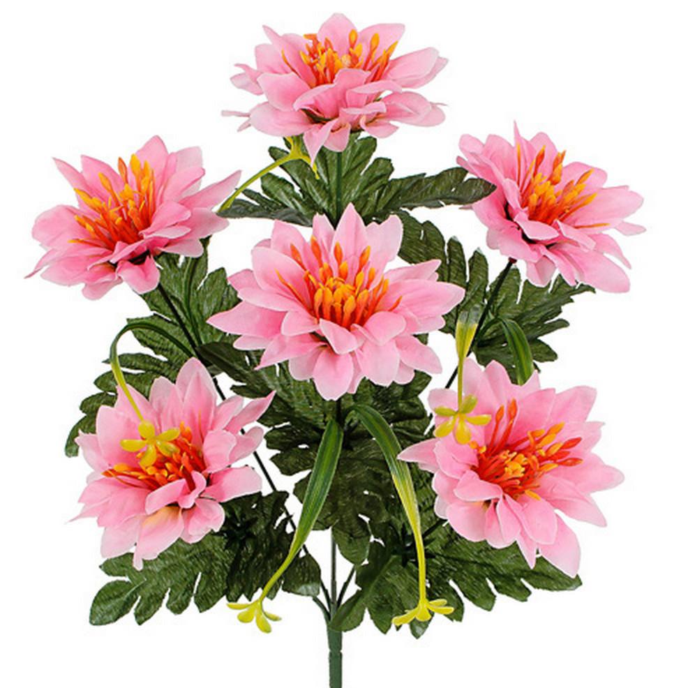 Искусственные цветы букет хризантемы, 43см( 20 шт в уп.)