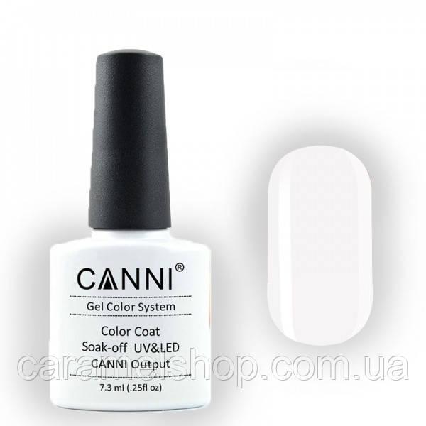 Гель-лак CANNI 023 белый, 7,3 ml