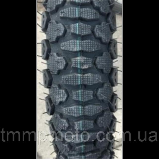 Покрышка (шина, резина ) 3.50-18  с камерой шиповка