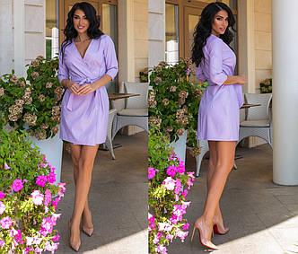 """Жіноче плаття до великих розмірів """"Шкіра Запах Міні"""" в кольорах (80-1101)"""