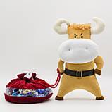 Бычок Саня, мягкая игрушка, 31 см, Символ года 2021, фото 2