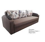 Прямой раскладной диван от производителя еврокнижка СМАРТ Диван-софа для повседневного сна Коричневый, фото 4