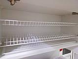 Кухоний посудосушитель GIFF білий  (2 полиці, 1 піддон, 8 кріплень), фото 2