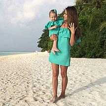 Платье Волан с оборкой на плечах для беременных и кормящих, фото 2