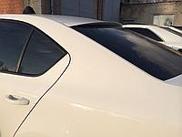 Козирок спойлер на заднє скло Skoda Octavia A7