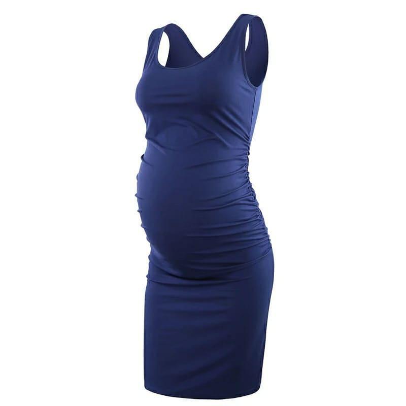 Летнее платье для беременных и кормящих
