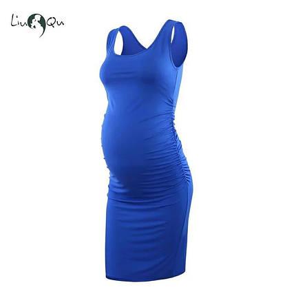 Летнее платье для беременных и кормящих, фото 2