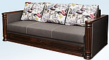 Диван- еврокнижка СКАРЛЕТ Диван-софа для повседневного сна Серый СКМ, фото 4