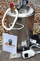 Автоклав ЛЮКС - 21 из нержавеющей стали электрический для домашнего консервирования