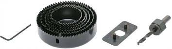 Набор кольцевых сверл X-treme (9 предметов) адаптер, переходник, шестигранник  2629902